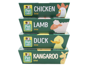 15% + FREE BROTH 🤩 PET CUBES<br>Raw Duck<br>Frozen Fresh Human Grade Dog Food