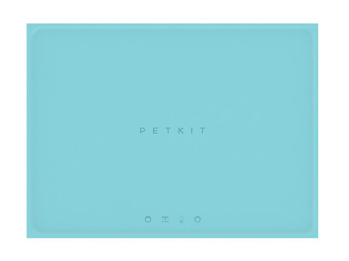 PETKIT<br>Blue Food-Grade Silicone<br>Spill-Proof Pet Feeding Mat