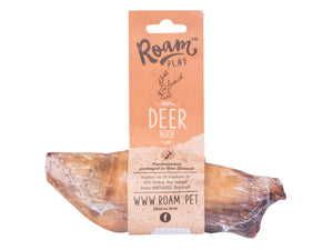20% OFF ⏰ ROAM Play<br>100% Air Dried Deer Hoof<br>Dog Chew Treats