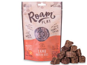 20% OFF ⏰ ROAM Play<br>Air Dried Lamb Protein Bites<br>Dog Chew Treats