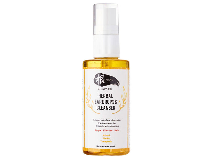 15% OFF ⏰ ROOTS<br>Herbal Ear Drops & Cleanser<br>All Natural for Dogs