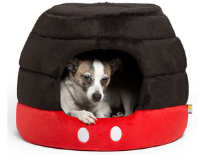 SENTIMENTS<br>Disney Mickey Mouse Pants<br>2-Way Honeycomb Hut Pet Bed