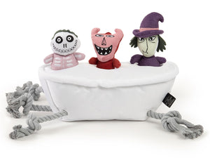 SENTIMENTS<br>Disney The Nightmare Before Christmas<br>Lock, Shock & Barrel Interactive Plush Toy