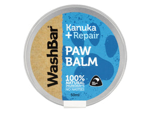 WASHBAR<br>100% Natural Paw Balm