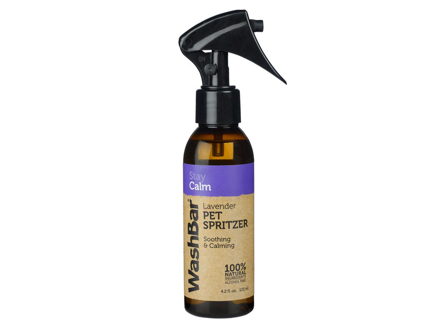 WASHBAR<br>Stay Calm Lavender Travel Spritzer<br>Pet, Car & Home Spray