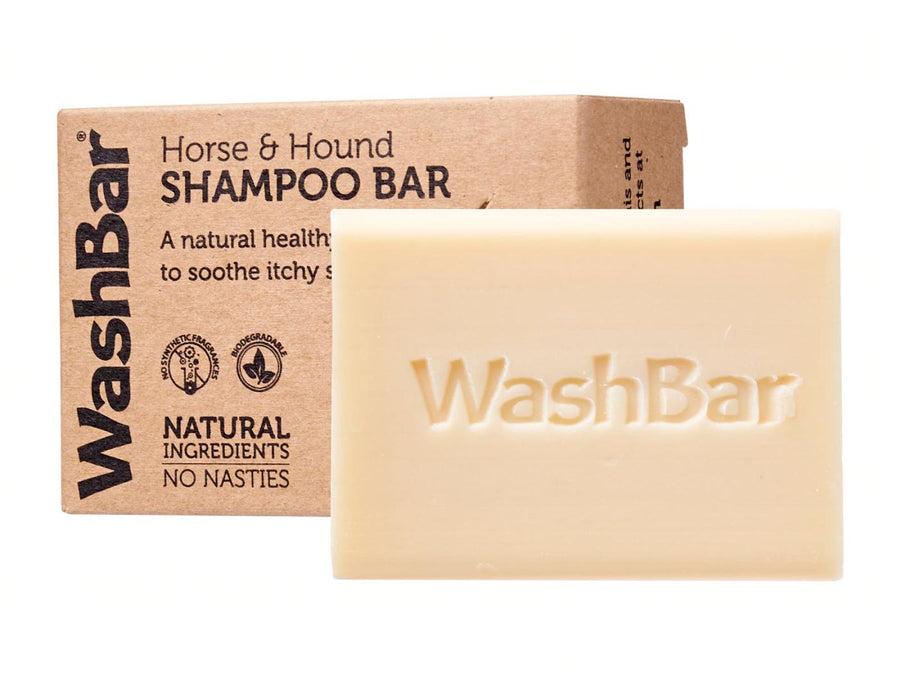 WASHBAR<br>Horse & Hound Flea & Tick<br>Itchy Pet Soap Shampoo Bar