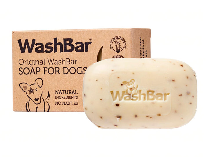 WASHBAR<br>Original Flea & Tick Itchy<br>Dog/Cat/Small Pet Soap Shampoo Bar