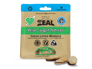 ⭐️ BUY 2 FREE 1 ⭐️<br>ZEAL<br>100% Freeze Dried Green Lipped Mussels<br>Dog/Cat Treats