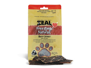 ⭐️ BUY 2 FREE 1 ⭐️<br>ZEAL<br>100% Air Dried Beef Jerky Fillets<br>Dog Chew Treats