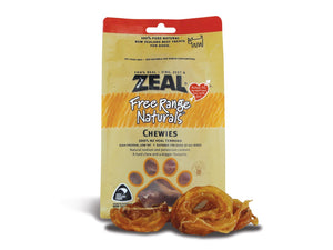 ⭐️ BUY 2 FREE 1 ⭐️<br>ZEAL<br>100% Air Dried Chewies Veal Tendons<br>Dog Chew Treats
