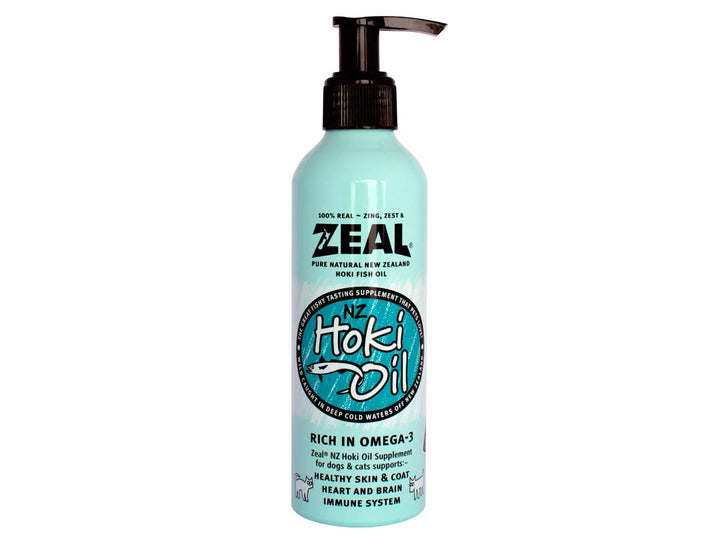 20% OFF ⏰ ZEAL<br>Pure New Zealand Hoki Fish Oil<br>Skin + Coat Supplement
