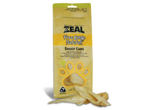 ⭐️ BUY 2 FREE 1 ⭐️<br>ZEAL<br>100% Air Dried Sheep Ears<br>Dog Chew Treats