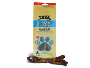 15% OFF ⏰ ZEAL<br>100% Air Dried Veal Spare Ribs<br>Dog Chew Treats