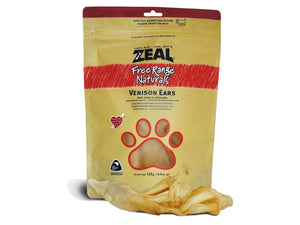 ⭐️ BUY 2 FREE 1 ⭐️<br>ZEAL<br>100% Air Dried Venison Ears<br>Dog Chew Treats
