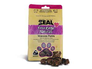 ⭐️ BUY 2 FREE 1 ⭐️<br>ZEAL<br>100% Air Dried Venison Lung Puff<br>Dog/Cat Chew Treats