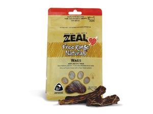⭐️ BUY 2 FREE 1 ⭐️<br>ZEAL<br>100% Air Dried Wags Calf Tails<br>Dog Chew Treats