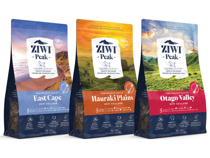 20% OFF ⏰ ZIWI PEAK<br>Provenance<br>Air-Dried Dog Food/Toppers/Treats