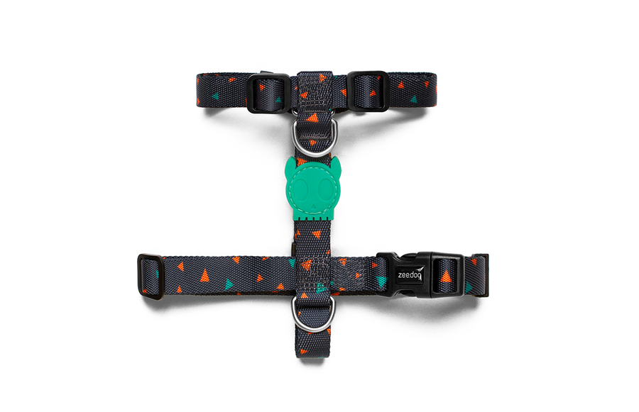 10% OFF ⏰ ZEE.DOG<br>Triangles H Dog Harness