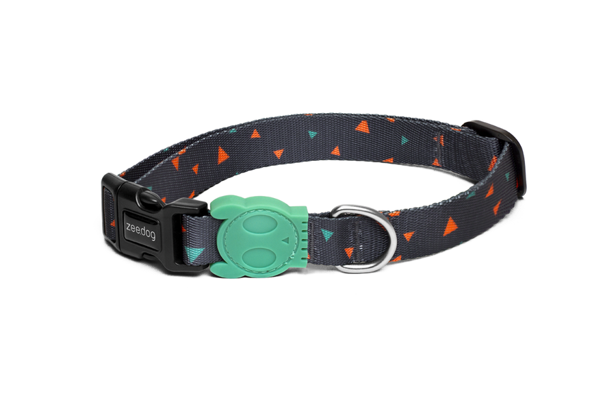 10% OFF ⏰ ZEE.DOG<br>Triangles Dog Collar