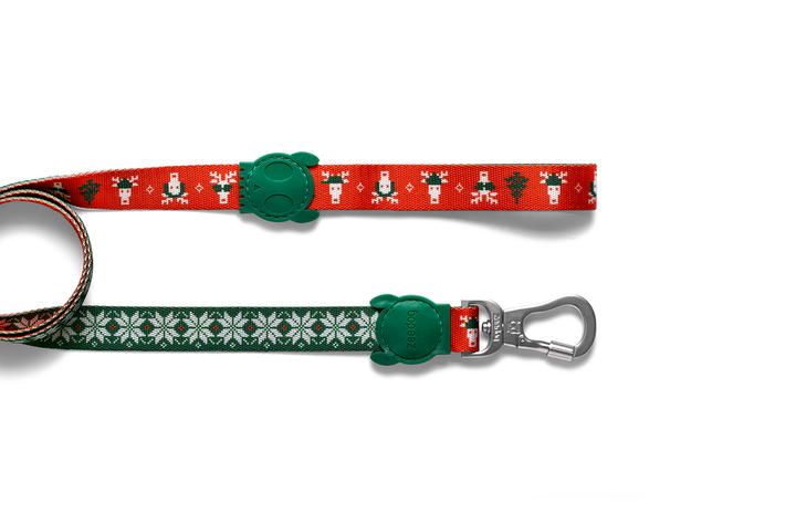10% OFF ⏰ ZEE.DOG<br>Rudolph Dog Leash