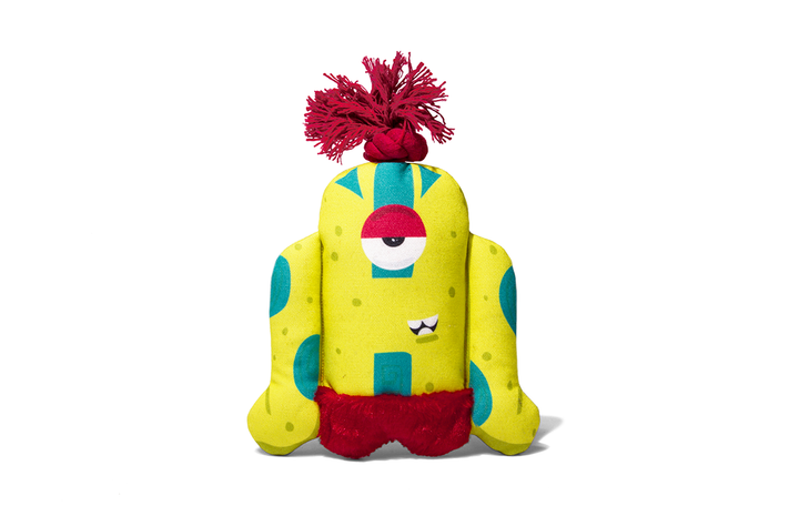 10% OFF ⏰ ZEE.DOG<br>Alien Flex Biggoe<br>Canvas Dog Plush Toy