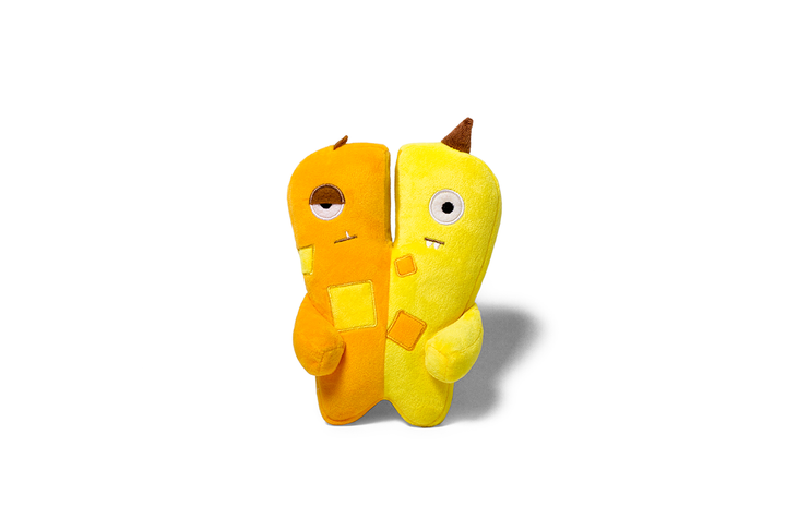 10% OFF ⏰ ZEE.DOG<br>Alien Flex Jimmy & Joe<br>Dog Plush Toy