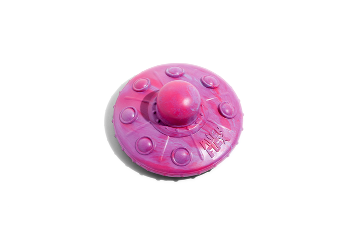 10% OFF ⏰ ZEE.DOG<br>Alien Flex Flying Saucer<br>Rubber Dog Fetch/Tug/Chew Toy