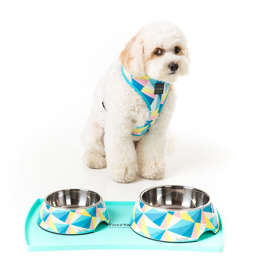 10% OFF ⏰ FUZZYARD<br>Pink Food-Grade Silicone<br>Spill-Proof Pet Feeding Mat