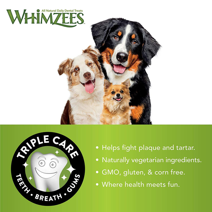 22% OFF ⏰ WHIMZEES<br>GRAIN FREE Variety Value Box<br>Dog Dental Chew Treats