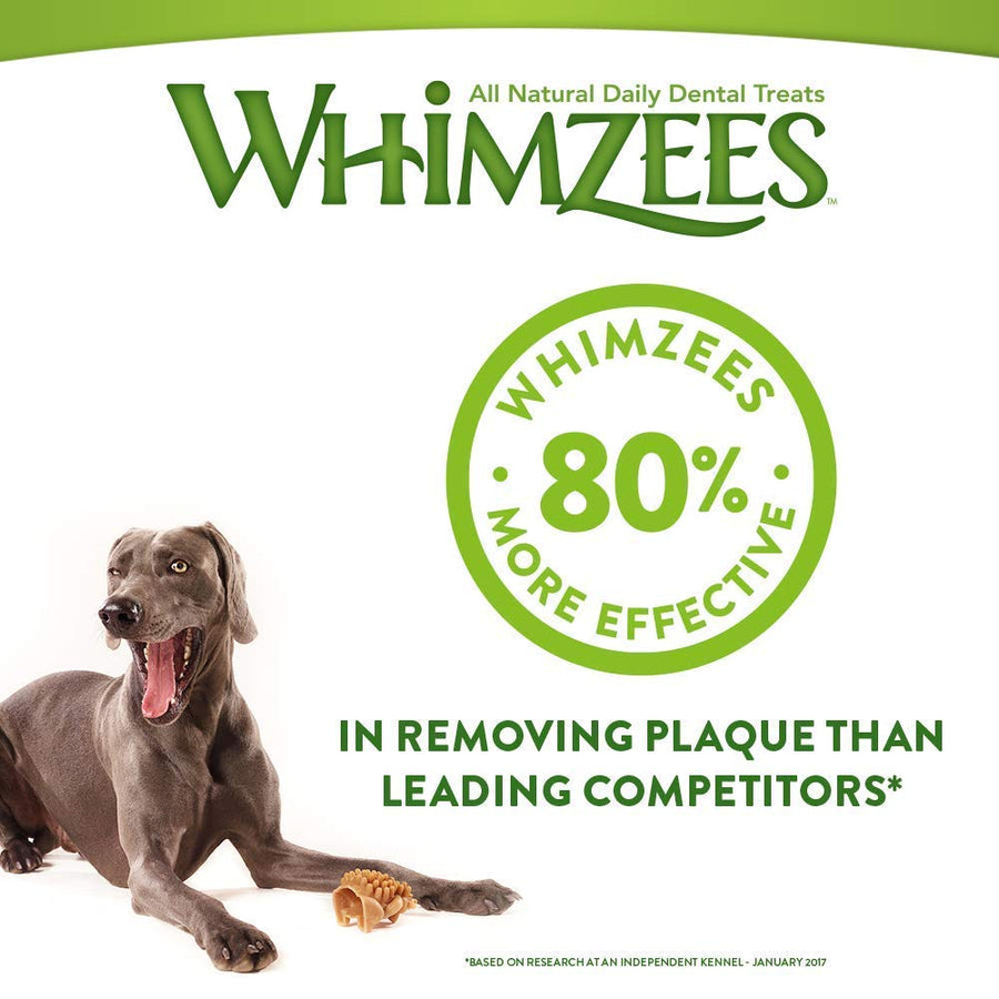 ⭐️ BUY 2 FREE 1 ⭐️<br>WHIMZEES<br>GRAIN FREE Dog Dental Chew Treats