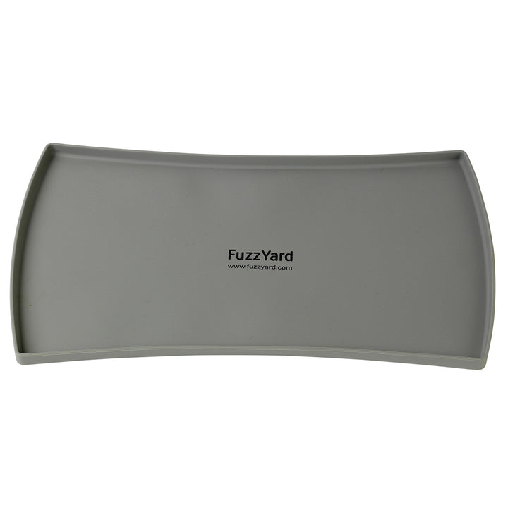 10% OFF ⏰ FUZZYARD<br>Grey Food-Grade Silicone<br>Spill-Proof Pet Feeding Mat