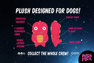 10% OFF ⏰ ZEE.DOG<br>Alien Flex Stixx<br>Dog Plush Toy