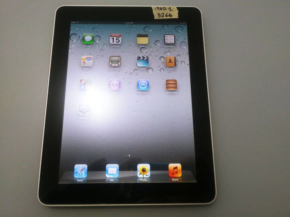 Tablette iPad 1 WiFi 32Gb