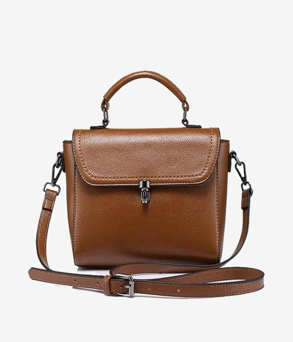 Kourtney Vegan Messenger Bag
