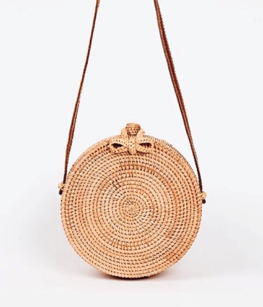 Paradise Straw Crossbody - Pacific Weekend