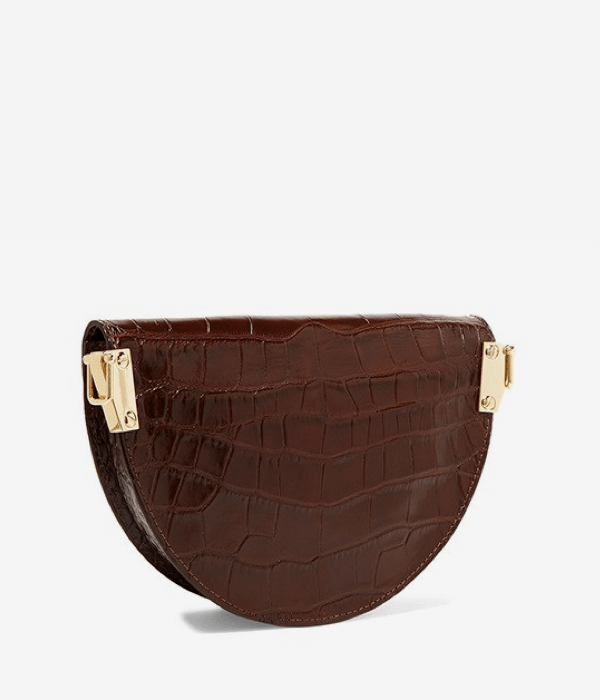 Tori Vegan Croc Crossbody