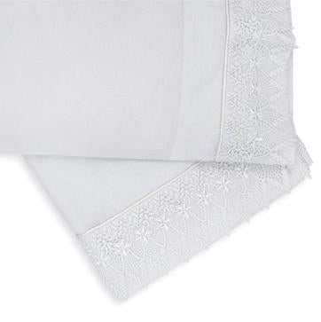 2 Piece Bassinet/Pram Sheet Set, Exclusive,  White