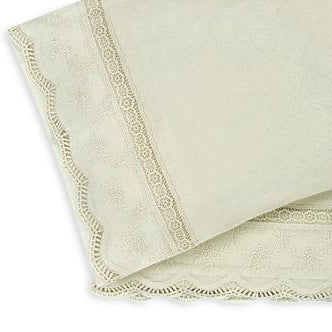 2 Piece Bassinet/Pram Sheet Set, Exclusive, Natural