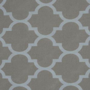 Fitted Cot Sheet - Taupe Geometric