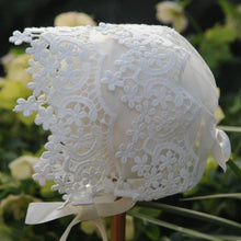 Load image into Gallery viewer, Exclusive Lace Bonnet