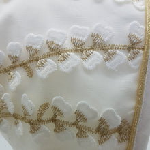 Load image into Gallery viewer, Exclusive Ivory Bonnet with Gold Vine