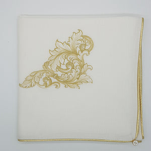 'Delicate Delight' Embroidered Wrap & Pillowcase Set