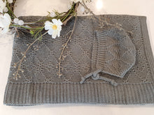 Load image into Gallery viewer, Cashmere Cotton Knitted Blanket / Pram Cover