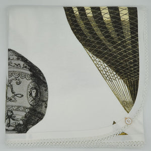 'Fly away with me' Organic Cotton Baby Wrap & Pillowcase
