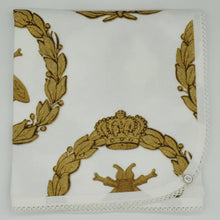Load image into Gallery viewer, 'Gold Bee & Laurel' Organic Cotton Baby Wrap