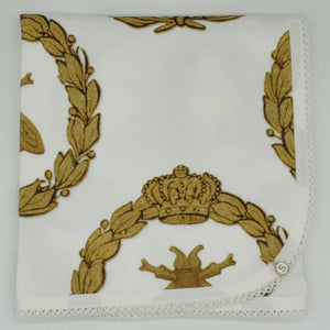 'Gold Bee & Laurel' Organic Cotton Baby Wrap
