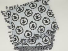 Load image into Gallery viewer, 'Grey Bee's' Organic Cotton Baby Wrap & Pillowcase