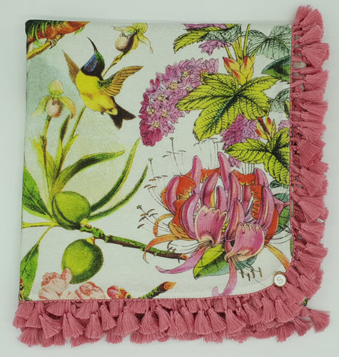 'The Botanical Gardens' Organic Cotton Baby Wrap