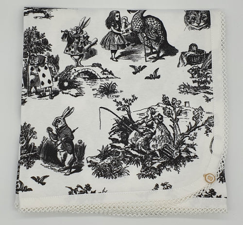 'Alice In Wonderland' Organic Cotton Baby Wrap