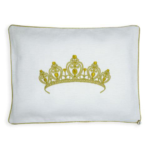 'My Royal Princess' Embroidered Pillowcase